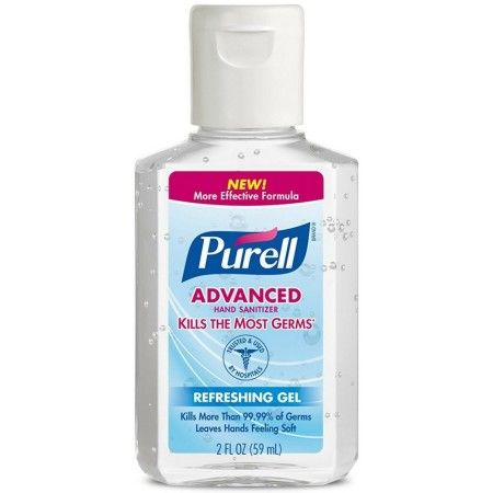 Purell Advanced Hand Sanitizer 2 Oz 073852096507 Fragrance