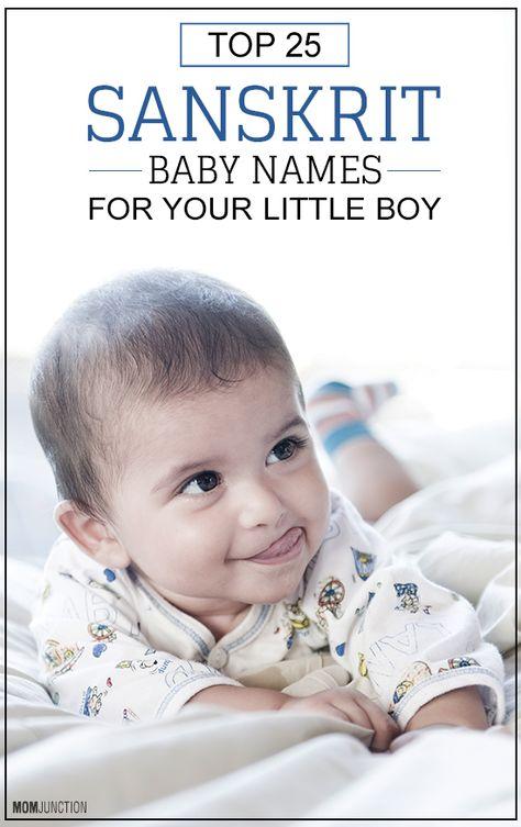Top 25 Sanskrit Baby Names For Your Little Boy