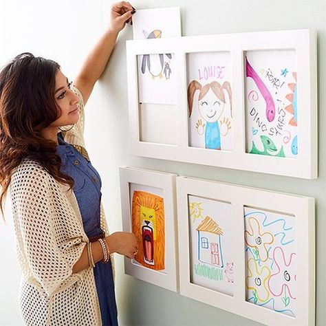 Children's Artwork Art Frames Up To Off Today @ Zulily art display C. Children's Artwork Art Frames Up To Off Today @ Zulily art display Children's Artwork Art Frames Up To Off Today @ Zulily Design Room, Interior Design, Studio Design, Design Design, Toy Rooms, Kid Spaces, Small Spaces, Baby Design, Girl Room