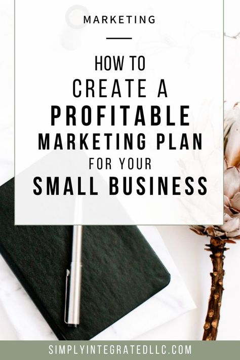 How to Write a Profitable Marketing Plan For your Small Business | Small Business Marketing Tips & Entrepreneur Tips - Wondering how to write a marketing plan for your business? A successful, profitable marketing plan has to be strategic & I�m going to sh