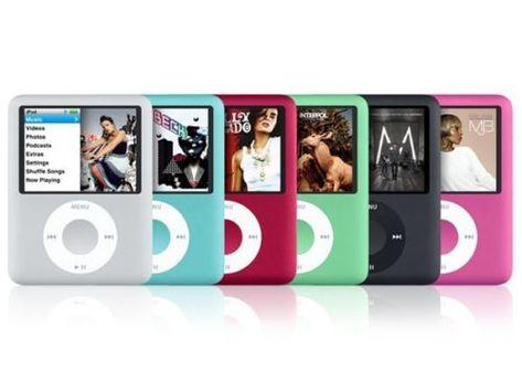 2nd 7th Apple iPod Nano 1st 8GB 3rd 6th 5th 16GB 4th 8th Generation//4GB