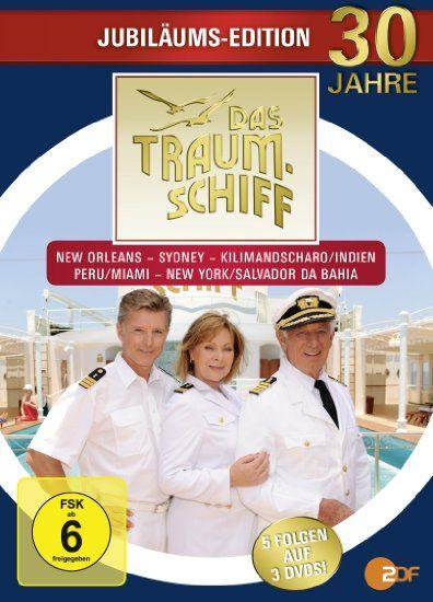 Das Traumschiff - Jubiläums-Edition [3 DVDs]: Heide Keller, Hans Jürgen Tögel, Christine Kabisch