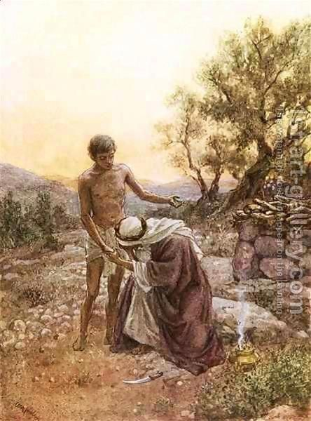 Abraham Offers Isaac Google Search Abrahamisaacandjacob