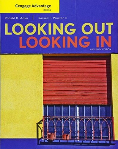 Ebook Download Cengage Advantage Books Looking Out Looking In By