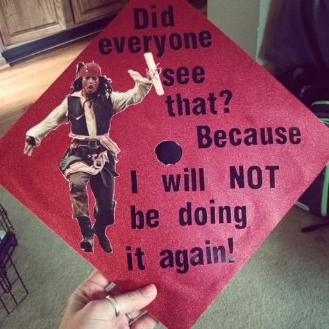 Graduation doesn't have to be all serious — it's a time to celebrate and have fun. If you plan on decorating your graduation cap, do it with some flair. for graduation memes 29 Hilarious Graduation Cap Ideas That Will Make You Stand Out in the Crowd Funny Graduation Caps, Graduation Cap Designs, Graduation Cap Decoration, Graduation Diy, High School Graduation, Graduate School, Funny Grad Cap Ideas, Disney Graduation Cap, Graduation Invitations