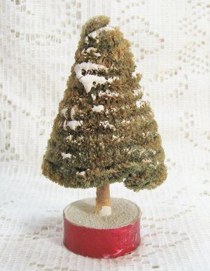 Japan Cone Shaped Chenille Christmas Tree $18.00