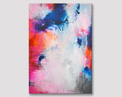 Peinture Abstraite Sur Toile Art Abstrait Peinture