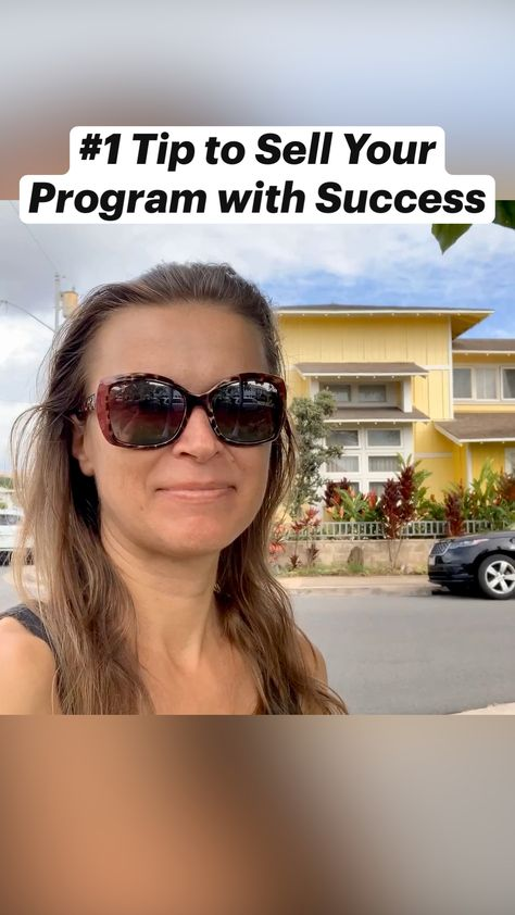 #1 Tip to Sell Your Program with Success- Small Business Tips for Women Entrepreneurs