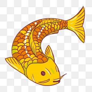 Yellow Goldfish Koi Carp Goldfish Clipart Fish Red Png Transparent Clipart Image And Psd File For Free Download Koi Carp Goldfish Clip Art