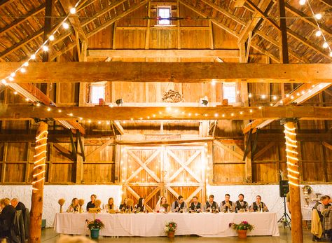 Balls Falls Rustic Rain Barn Wedding Niagara Toronto Photographer Fine Art Film Andrew Mark Bride Groom Portrait Photography Classic lights venue reception