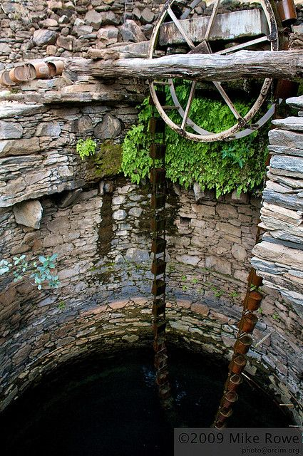 Ancient Water Well, via Flickr.