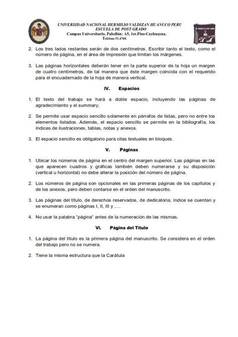 Reglamento De Magister Escuela De Posgrado Unheval