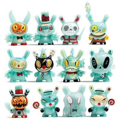 KIDROBOT Scared Silly Dunny series by Jenn /& Tony bot ONE RANDOM Blindbox
