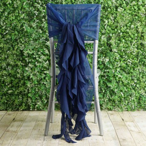 Banquet Decorations, Wedding Chair Decorations, Royal Blue Wedding Decorations, Color Themes For Wedding, Wedding Ideas Blue, Blue Wedding Colors, Blue Wedding Cakes, Baby Blue Wedding Theme, Wedding Decorations Pictures