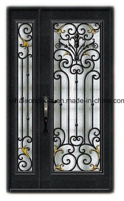 Hot Item Hand Crafted Metal Double Door Iron Door Iron Doors