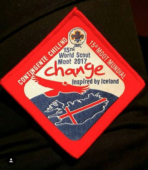 UK Contingent Iceland World Scout Moot 2017 Badge
