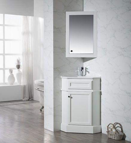 Corner Bathroom Vanities The Ultimate Space Saving Solution For A Small Bathroom Corner Bathroom Vanity Bathroom Solutions Space Saving Bathroom
