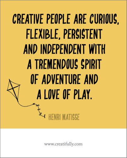 Challenging What We Think About Creativity Creatifully Creative People Quotes Creative Life Quotes Creativity Quotes