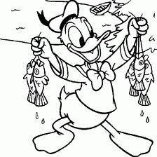 Imagens Para Imprimir E Colorir Desenhos Turma Do Mickey Donald