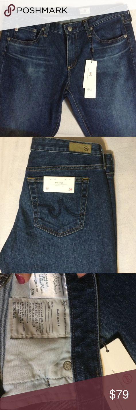 Adriano Goldschmied AG THE SILT | Womens size 30R Adriano Goldschmied 🔥AG THE SILT | Cigarette Leg size 30R never worn new with tags attached. Perfect with classy with Pumps or boot. These are one of my Favorite brands of jeans. These jeans are always a perfect fit! AG Adriano Goldschmied Jeans Skinny