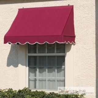 Window Awning Scalloped Trim Fabric Mildew Resistance Canvas Awning Canvas Awnings Window Awnings Traditional Windows