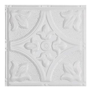 Great Lakes Tin Jamestown Matte White 2 Foot X 2 Foot Nail Up Ceiling Tile Carton Of 5 Sample Metal Ceiling Tile Tile Samples Crown Molding Styles