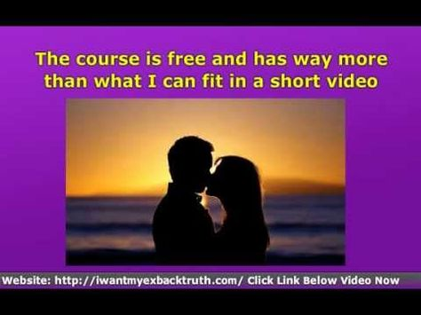 """http://iwantmyexbacktruth.com/ How To MAKE Your EX WANT You BACK Again EVEN If You Tried EVERYTHING Else!  Learn The Secret Psychology You NEED of """"how to make your ex want you back"""" And in love all over again!    Here are direct links to the secrets of how to get your ex back"""