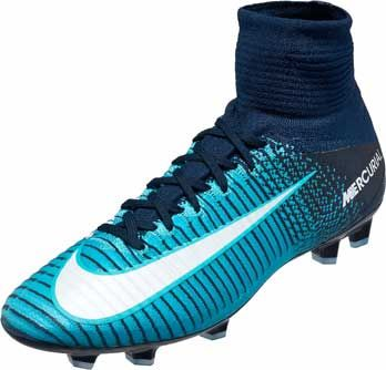 Nike Kids Mercurial Superfly V Fg Blue Soccer Cleats Soccer Boots Soccer Shoes Kids Soccer Cleats