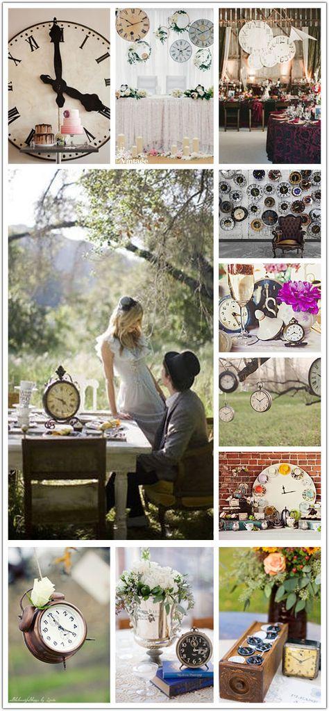 Nunti Tematice Decor Cu Ceasuri Idei Pentru O Nunta Superba My