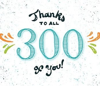 Image result for 300 followers