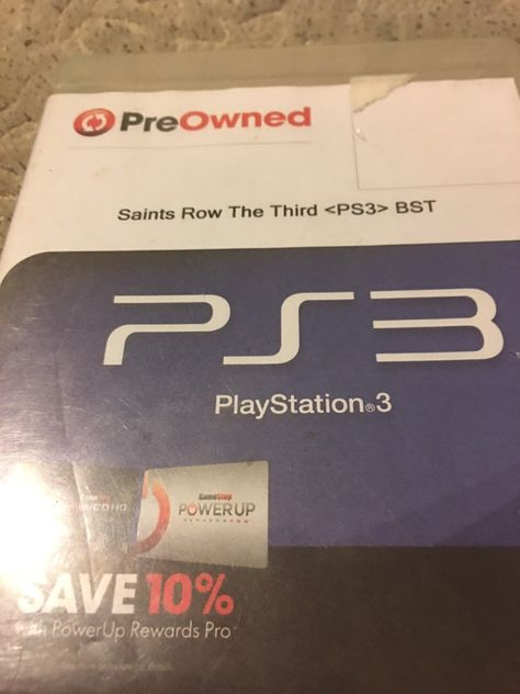 Saints row the third ps3 game disc only