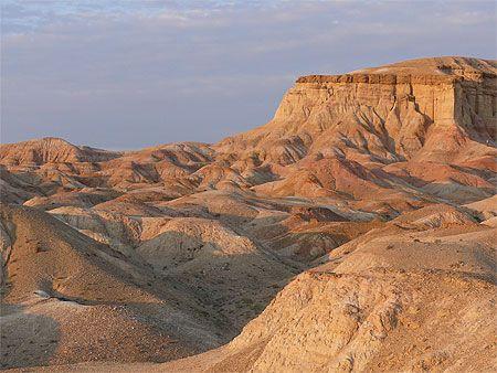 Tsagaan Suvarga - désert de Gobi   Mongolie