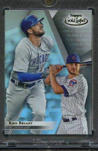 Details About 2018 Topps Gold Label Class 2 Red 26 Kris Bryant