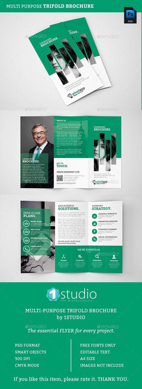 Corporate Trifold Brochure 06