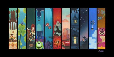 The Pixar Storyline Chiarograph - Chiarograph