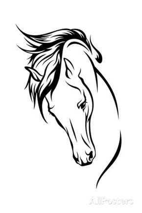 Stallion Art by Cattallina at AllPosters.com