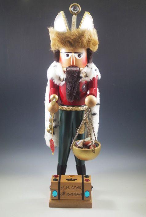 STEINBACH, GERMANY CZAR OF RUSSIA, TSAR, NO.734 NUTCRACKER, 20