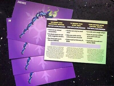 Fast Delivery New Fortnite Merry Mint Minty Pickaxe Code All Platforms Fortnite Canada Toronto Ebay Quinn