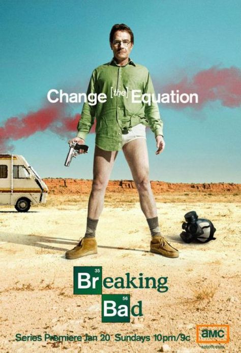 Poster promo Breaking Bad