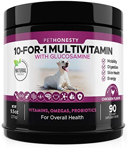 7 Vitamins For Dogs That All Dog Owners Need To Know About In 2020 Dog Vitamins Dog Multivitamin Dog Joint Supplement
