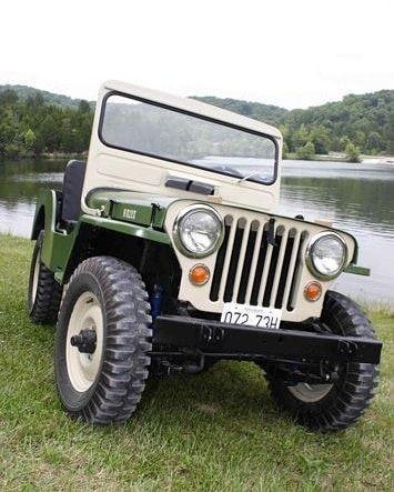 1948 Willys Cj2a Willys Cj2a Jeep Jipe Carroceria Jeep
