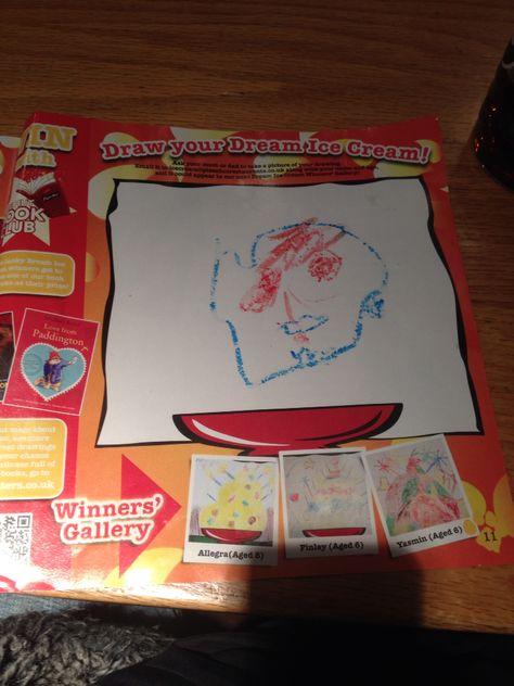 Charlies Ghost Mixed Crayon Pizza Hut Eureka Park