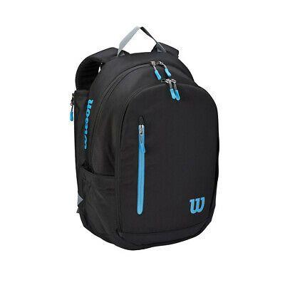 Wilson 2020 Ultra Tennis Backpack Tennis Bag Black Blue Wr8009301001 Ebay In 2020 Tennis Bag Tennis Backpack Black Backpack