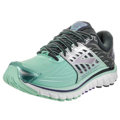 e1ff2fe94336e Brooks Women s Glycerin 14 Blue Synthetic-leather Running Shoes