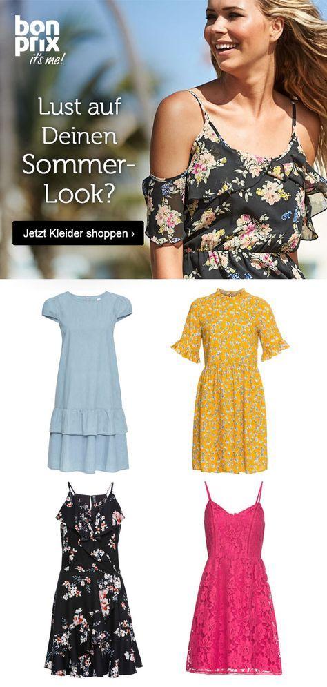 Ob Jeanskleid Maxi Dress Oder Blumchenkleid Bonprix Bietet Eine Grosse Auswahl An Schonen Kleidern Sommer Kleider Jeans Kleid Kleider