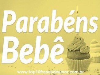 Top10 Frases De Amor Aniversario 133 Parabéns Bebê