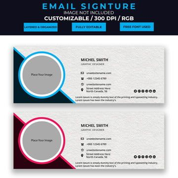 Pin On Email Signature Templates