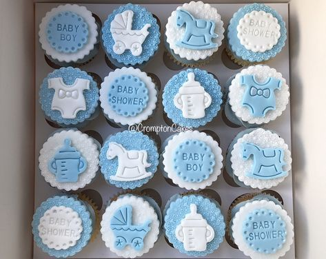 Super Baby Shower Cupcakes For Boy 19 Ideas In 2020 Baby Shower Cupcakes For Boy Baby Shower Cakes For Boys Cupcakes For Boys
