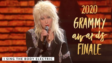 Cyndi Lauper I Sing The Body Electric 62nd Annual Grammy Awards Finale Youtube In 2020 Cyndi Lauper Body Electric Grammy Awards