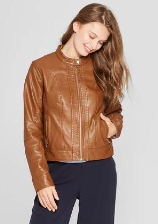 10 Good Looking Brown Vegan Leather Jacket Options Men Women 2020 Leather Jacket Brown Vegan Leather Jacket Vegan Leather Jacket